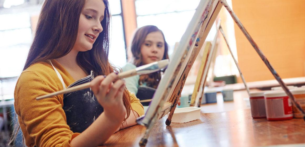 Art Class : Time to Get Creative
